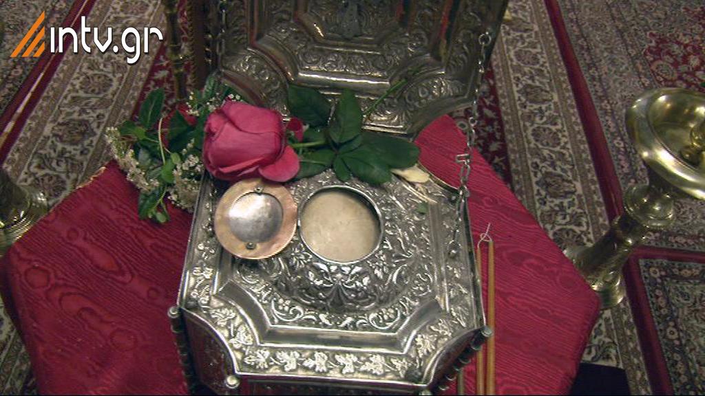 Ιερός Ναός Αγίας Σοφίας Ν. Ψυχικού - Υποδοχή Τιμίας Κάρας Αγ. Ραφαήλ εκ Μυτιλήνης  - Μέγάς Εσπερινός του Ευαγγελισμού της Θεοτόκου.