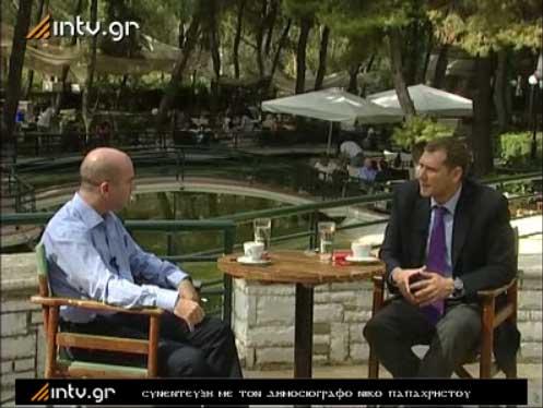 Συνέντευξη με τον δημοσιογράφο Νίκο Παπαχρήστου.